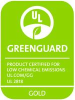V-korr certifié Greenguard