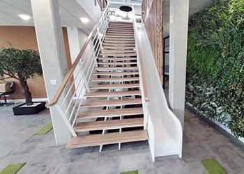 Escaliers - résine de synthèse