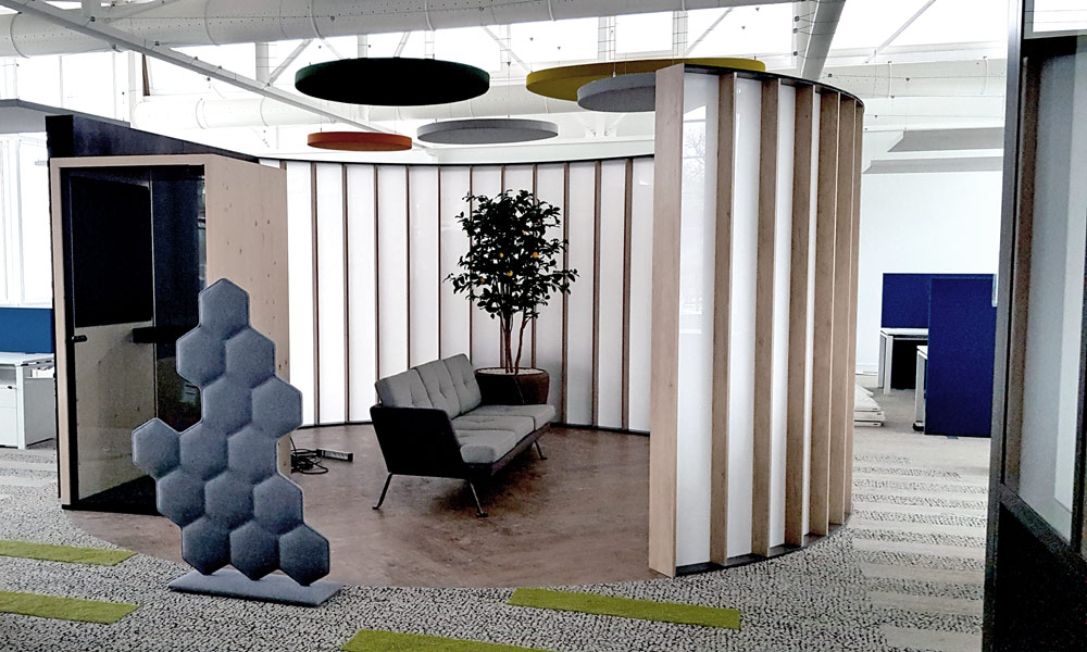 Habillage mural - cloison Solid Surface