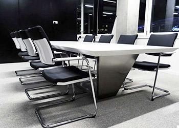 Table de réunion en Solid Surface - mobilier de bureaux