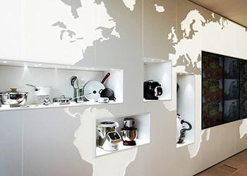 Mobilier de bureaux en Solid Surface